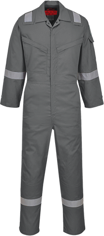 Araflame NFPA 2112 Coverall, Grey       Size 36 R/Fit