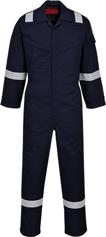 Araflame NFPA 2112 Coverall, Navy       Size 36 R/Fit