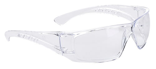 Clear View Safety Spectacle, Clear  R/Fit