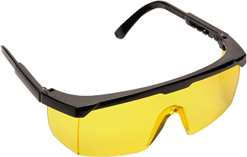 Classic Safety Eyescreen EN166, Amber  R/Fit