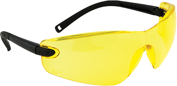 Profile Safety Spectacle, Amber  R/Fit