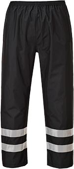 Iona Lite Trousers, Black      Size Large R/Fit