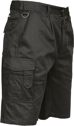 "<p><font color=""#413d3d"" face=""Sintony, sans-serif""><span style=""font-size: 14px;"">Portwest Black Cargo Shorts</span></font></p> S790BKRS"