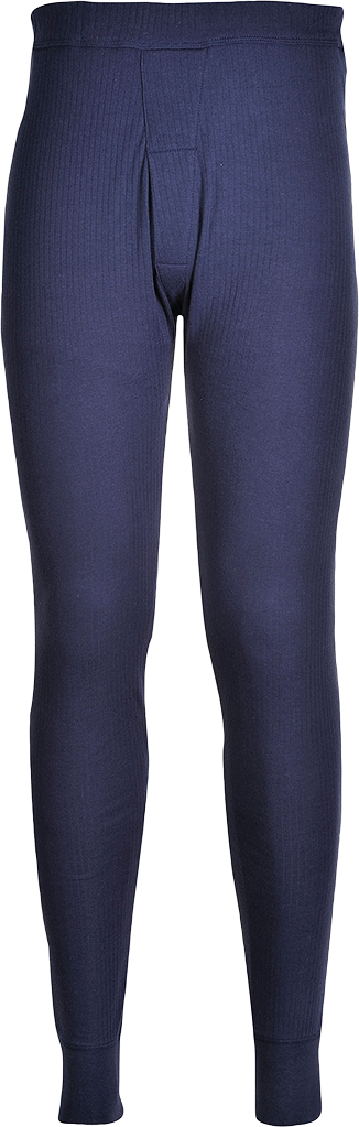 Thermal Pants, Navy       Size Large R/Fit